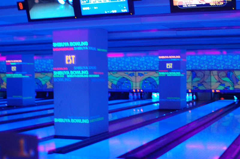 Bowling Alleys With Neon Lights Decoratingspecial Com